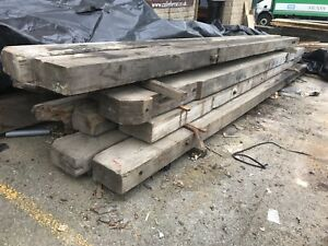 Pitch Pine Reclaimed Beams