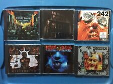 Skinny Puppy / Front 242 / Front Line Assembly CD Lot Of 6 Discs