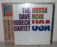 CD DAVE BRUBECK QUARTET - BOSSA NOVA USA - JAPAN SICP 4022