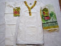 Elan Chicken Cotton Suit Embroidered Asian Ready Made Pakistani Indian 2018 New