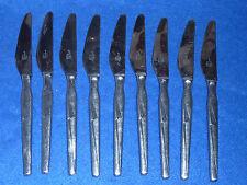 vintage LOT 9 COUTEAU solingen rostfrei GERMANY inox FRANCE knife MESSER