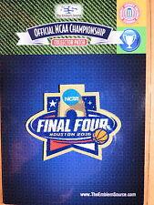 NCAA 2016 Basketball Final Four Patch N Carolina, Syracuse, Oklahoma, Villanova