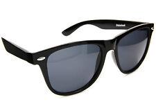 Polarized Square Shape Retro Sunglasses Men Women Fashion Dark Black Lens