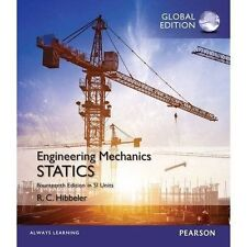 Engineering Mechanics- Statics (SI Units )14e by Russell Hibbeler + access code