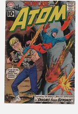 SHOWCASE 35 2ND APPEARANCE OF THE ATOM  GD+ 2.5  SILVER AGE  DC COMICS