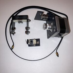Sovol SV01 Y-Axis Stepper Motor, Belt, Tensioner, Limit Switch, and Brackets New