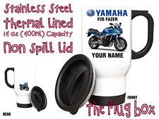 Yamaha FZ6 Fazer Personalised Thermal Steel Mug. Perfect Gift!(MB184)