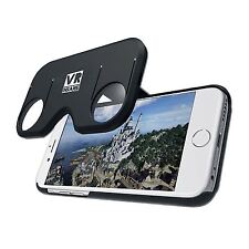 2 in 1 Virtual Realidad VR Juegos Vídeo Gafas Funda para Apple iPhone 6 & 6s