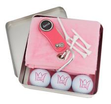 QUEEN OF GOLF: CaddyTuch+Golfbälle+Pitchfix Hybrid 2.0 + personalisiertem Marker