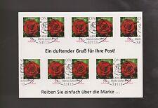 Briefmarken aus Deutschland (ab 1945) mit Sonderstempel und Bauwerks-Motiv