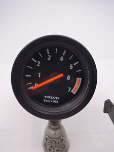 Volvo 240 Small Tachometer Kit 4 cylinder  52mm OEM Volvo