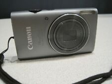Canon PowerShot ELPH 130 IS 16.0MP Digital Camera - Gray AS-IS