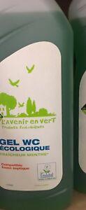 lot revendeur destockage Palette/Solderie De 7 Gel WC Écologique Menthe