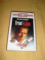 True Lies VHS Arnold Schwarzenegger Jamie Lee Curtis James Cameron