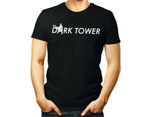 DARK TOWER unisex T shirt Stephen King movie women men gift tee top black gift