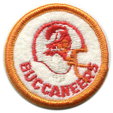 "1980'S TAMPA BAY BUCCANEERS NFL FOOTBALL VINTAGE 2"" ROUND PATCH"