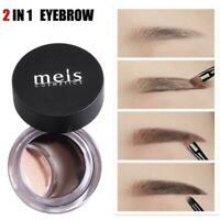 2 In-1 Eyebrow Pencil Waterproof Long Lasting Concealer Make-Up Moisturizer G6J6