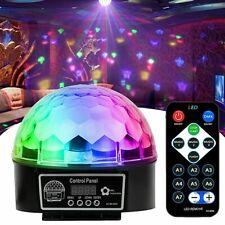 Disco Lichteffekt LED RGB Discokugel DJ Automatisch Party Bar Fernbedienung DE