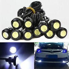 10X Car Motorcycle 10W LED Eagle Eye Daytime Running DRL Tail Light Backup Lamp