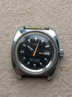 Timex 25 Métros Ne Fonctionne X Parts Vintage Montre Manuel Winding Corde