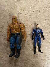 Toybiz Marvel Legends Fantastic Four Figure Loose Lot Torch Thing Movie Grimm