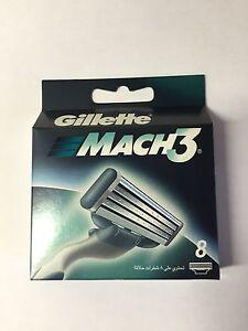 GILLETTE MACH 3  RASIERKLINGEN 8er Pack NEUWARE