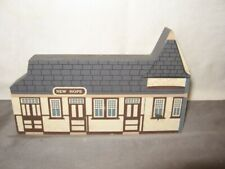 The Station House of the New Hope/Ivyland Rr Shelf Sitter New Hope, Pa Gc