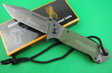 Fixed Folding Hunting Pocket Knife Survival Military Outdoor Fishing