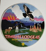 Boy Scout OA Lodge 45 Tiwahe Jacket Patch