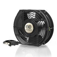 "172mm 51mm Cooling Muffin Fan Guard 120V AC Axial Ball Bearing 7"" (HS1751A-X)"