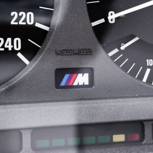 BMW E30 Instrument Cluster M Logo Badge Backlight Compatible PERFECT QUALITY e30