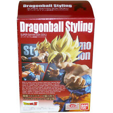 BANDAI Dragon Ball Styling Super Saiyan Goku Boxset Figure
