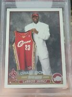 2003-04 Topps #221 LeBron James Cleveland Cavaliers Rookie PSA 7 NM NBA Lakers