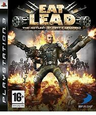 EAT LEAD PLAYSTATION 3  PS3   NUOVO !!!