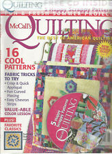 McCALL'S QUILTING 19 NO. 4 JULY/AUGUST 2012  W/ FREE CD