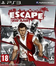 jeu ESCAPE DEAD ISLAND pour Playstation 3 PS3 francais game spiel juego NEUF new