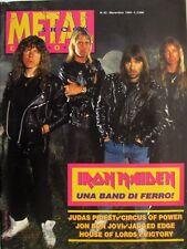 METAL SHOCK 82 1990 Iron Maiden Judas Priest Bon Jovi Circus Of Power Victory