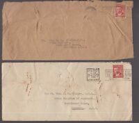 Australia 2 x circa 1949 covers addressed to Prime Minister Chifley