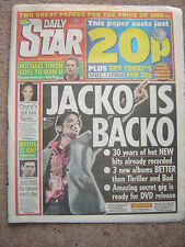 """MICHAEL JACKSON """"Daily Star"""" 3rd July 2009 - The Unreleased Recordings - 5 pages"""