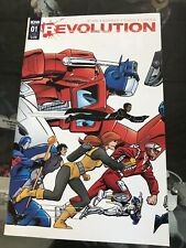 Revolution #1 2016 John Byrne Variant Cover Transformers G.I. Joe IDW Crossover
