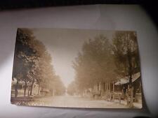 ANTIQUE POSTCARD RPPC WEST MAIN ST. LOGANTON PA PENNSYLVANIA business 1909