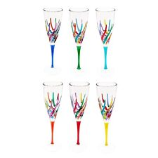 Gage Trix Champagne Flute, Choose Your Color (VA122)