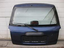 Daihatsu Cuore L7 L701 (99-03) : Heckklappe blau B42 mit Heckwischer mit Rost