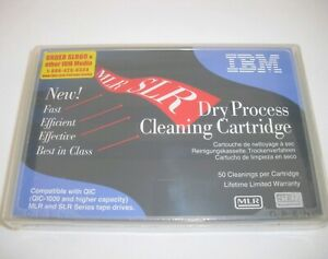 IBM #35L0844 SLR/MLR (AS/400) Dry Process Cleaning Cartridge NEW, FACTORY SEALED