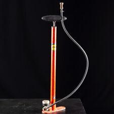Silca Molotini Orange Floor Pump, Vintage bike pump, works!