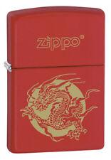 ACCENDINO ZIPPO DRAGON ZIPPO Chiusura Lampo Lighter Regali Fiamma Fuoco 28410