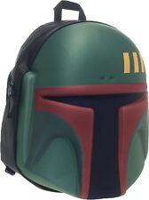 Star Wars Boba Fett Helmet Backpack Bounty Hunter Back Pack
