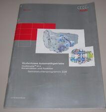 SSP 228 Stufenloses Automatik Getriebe 01J Audi A4 A6 C5 Konstruktion Funktion