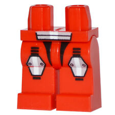 Lego Legs - Red with Armor & Knee Pads Galaxy Squad Pattern *NEW*