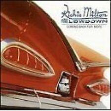 Richie Milton & The Lowdown Coming Back For More CD NEW SEALED 1998 Blues